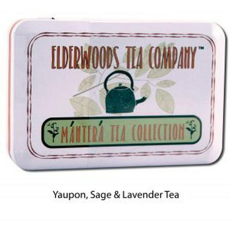 Elderwoods Tea Company - Yaupon, Sage & Lavender Clears and Invigorates Tea Tin .5 oz