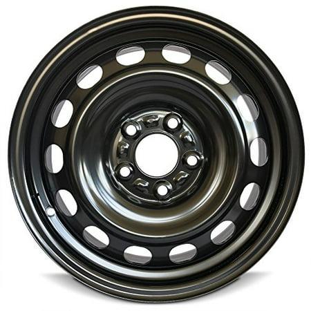 New 16X6 5 Mazda 3  10 13  5 Lug Steel Rim Gray Full Size Replacement Steel Wheel