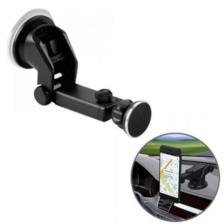 MYBAT UNIVERSAL MOBILE PHONE RETRACTABLE & MAGNETIC CAR HOLDER (WITH PACKAGE)