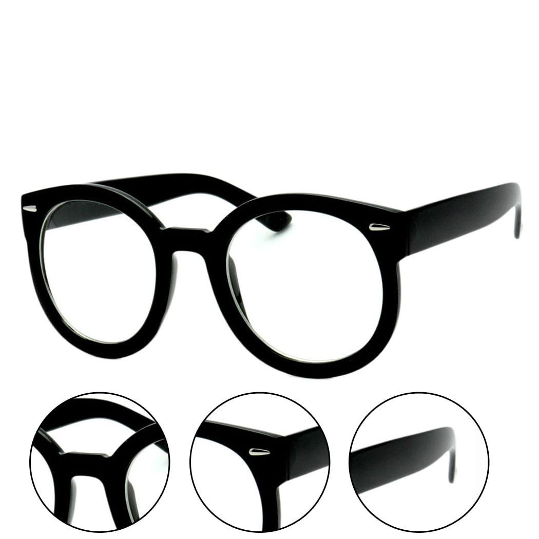 epic eyewear sunglasses walmart Ray-Ban Eyeglasses for Men product image simplified round nerdy glasses black transparent lens