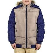 Men Winter Warm Zipper Hoodies Coat Jacket Splice Color Winter Outwear Long Sleeve Big Fur Collar Hoody Hooded Parka Jacket Outwear Plus Size M-4XL