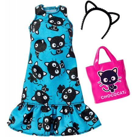 dc09535fe Barbie Hello Kitty Blue Cat Dress - Walmart.com