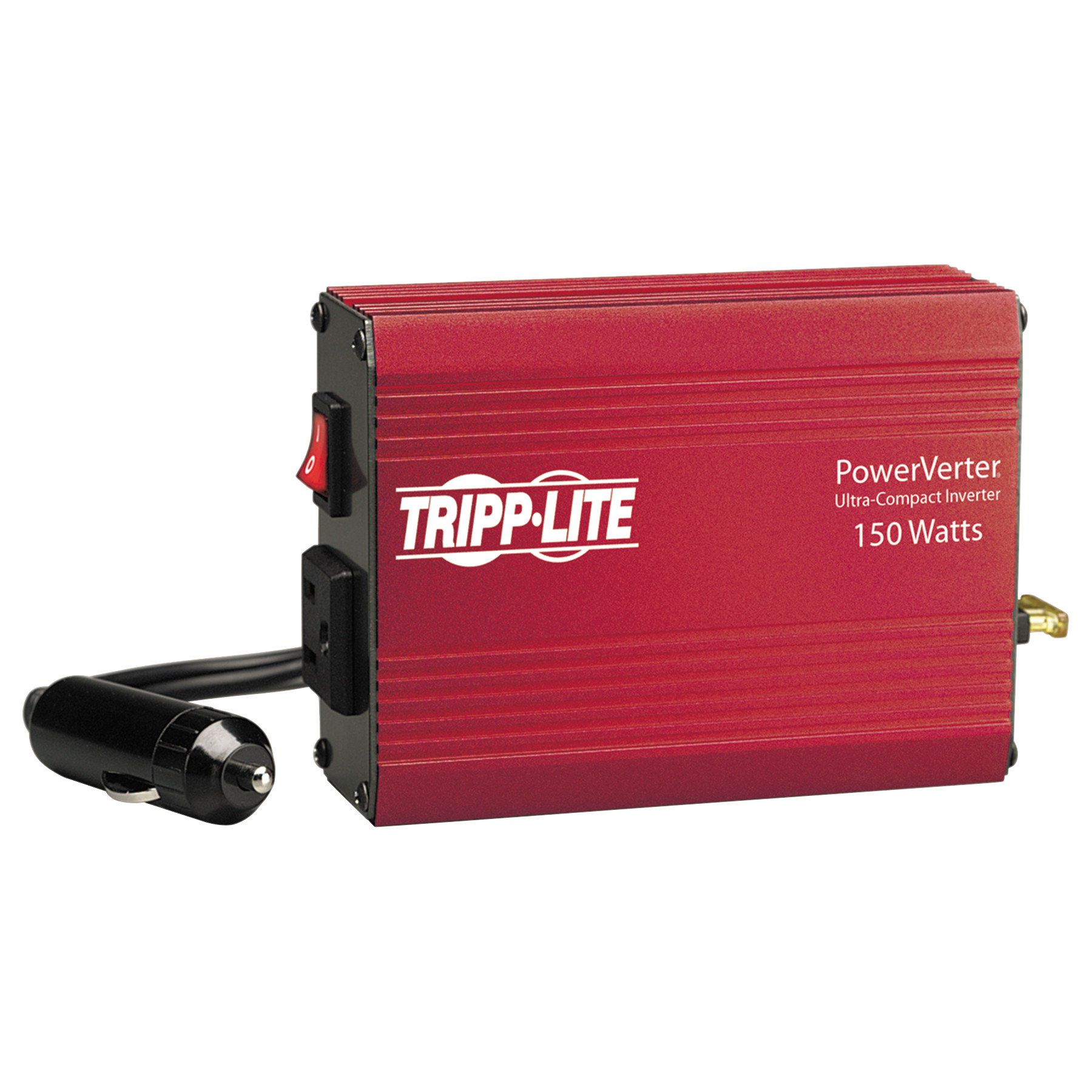 Tripp Lite Powerverter 150w Inverter 12v Dc Input 120v Ac Output 1 New To Electronics 12vdc Supply From 120vac How Does It Work Outlet