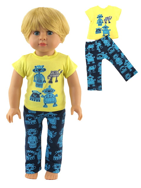 Our Generation Fits 18 American Girl Dolls etc Madame Alexander | 18 Inch Doll Clothes Outdoorsy Boy Outfit 3pc