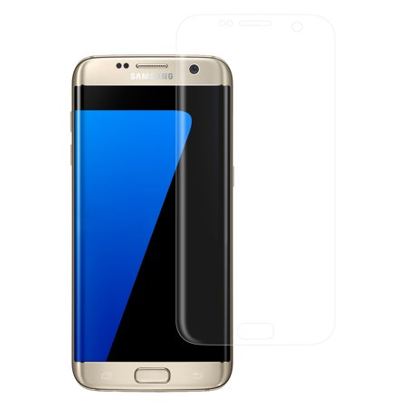 Samsung Galaxy S7 Edge Premium HD Temper Glass Ultra Thin Scratch Free Screen Protector for Galaxy S7 Edge - Clear ()