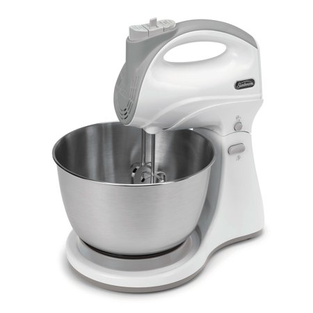 Sunbeam 1 CT Hand & Stand Mixer, Stainless Steel