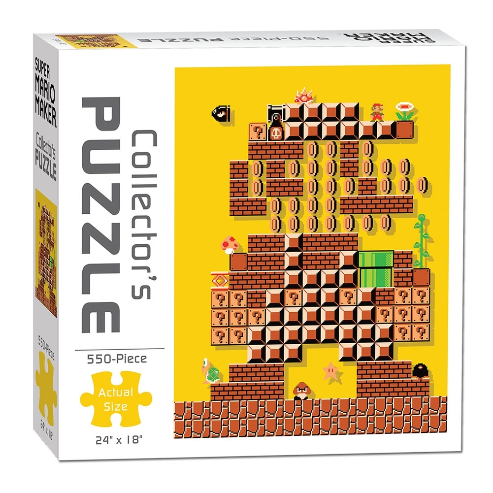 Super Mario Maker 550 Piece Puzzle