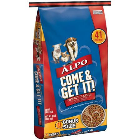Purina ALPO Come & Get It! Cookout Classics Dog Food 41 lb. Bag - Halloween Food Guts