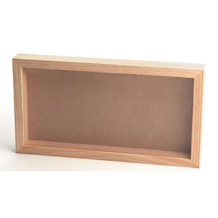 Loon Peak Nelligan Pinewood Moulding Shadow Box Picture Frame