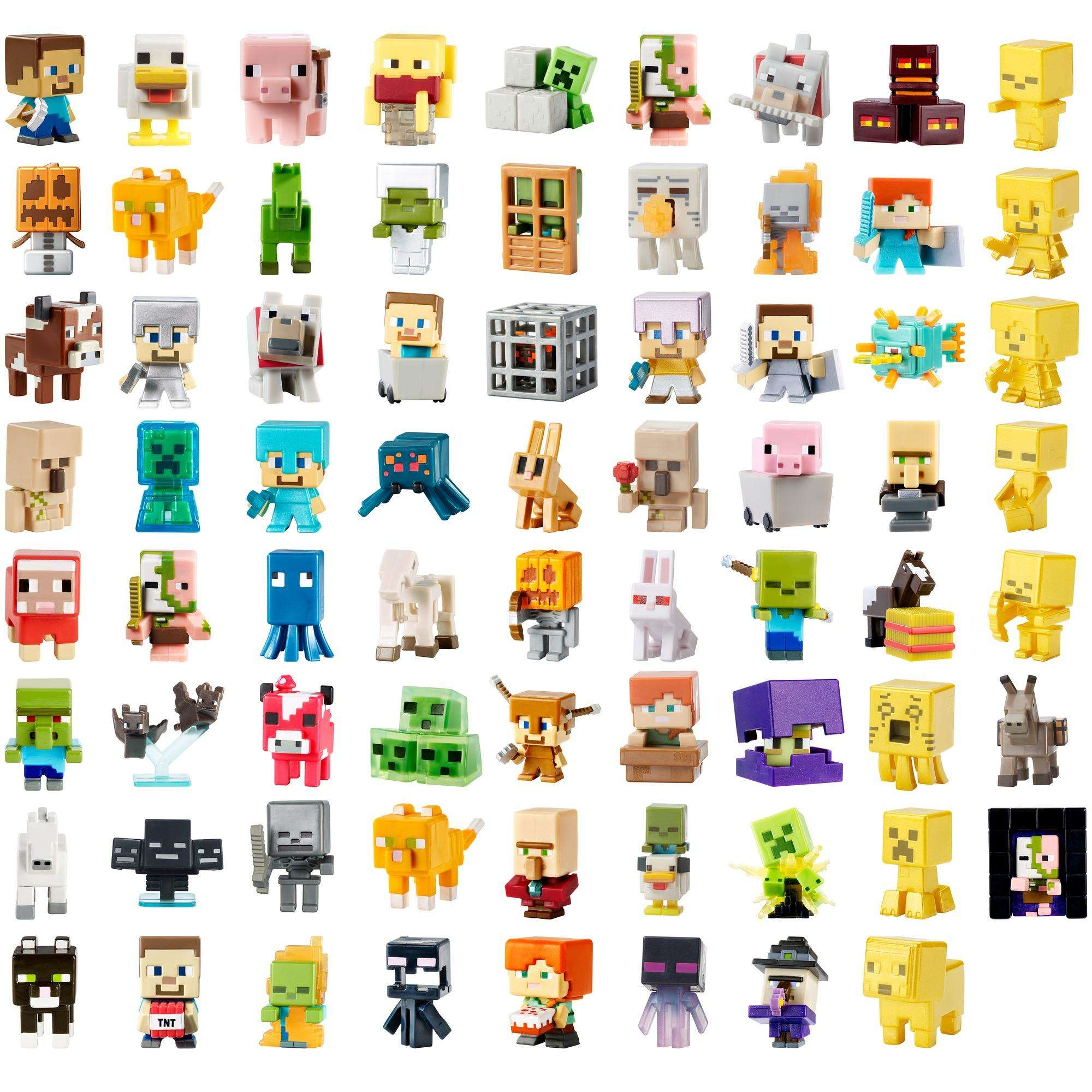 Minecraft Chest Series 4 Blind Box Mini Figure NEW Toys Collectibles 1 Figure