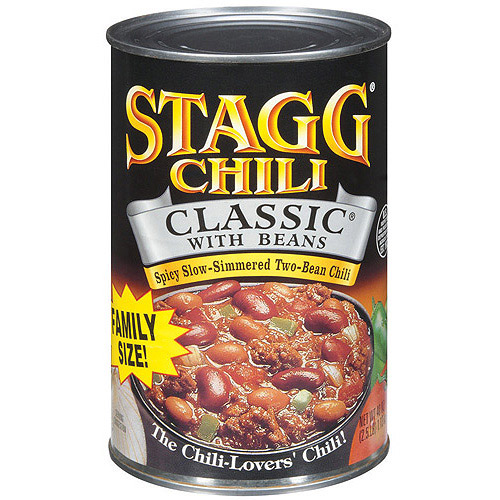 Stagg Classic Chili With Beans, 38 oz