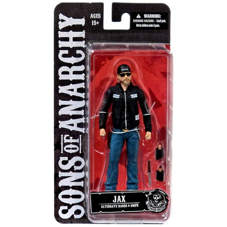 Sons of Anarchy Jax Teller Action Figure [Sunglasses & Hat] (Sons Of Anarchy Figurines)
