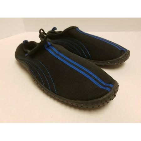 Air Balance Men's Aqua Water Shoes, ABAD015 (Black/Blue, 15) - Aqua Blue Jordans