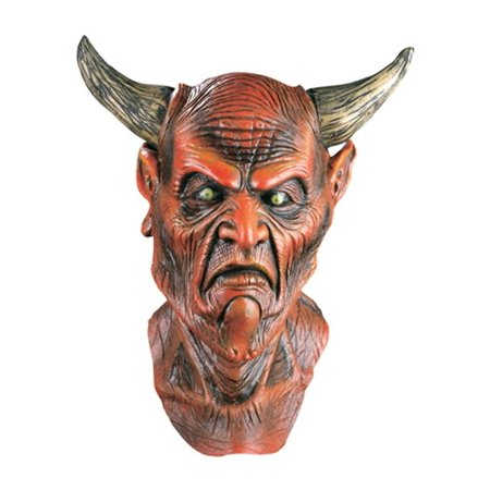 Demon Lord Mask Adult Costume - Lord Farquaad Mask