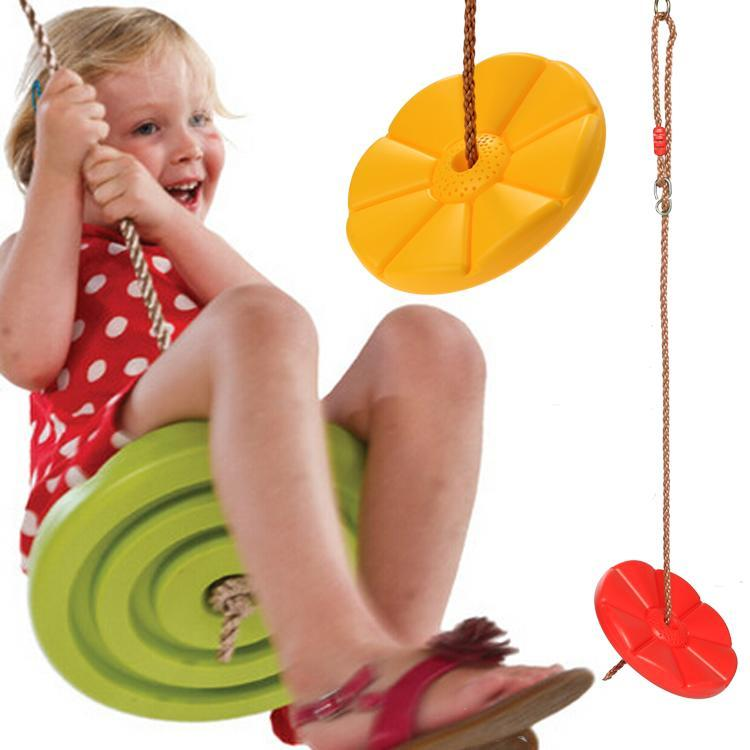 Outdoor Kids Children S Disc Swing Set With High Strength Rope Cdict