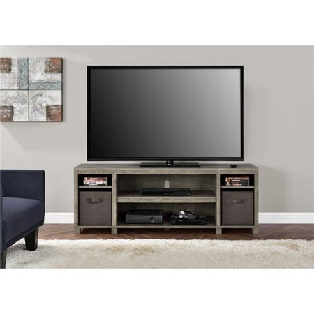 Mainstays Tv Stand With Bins For Tvs Up To 65 Quot Multiple