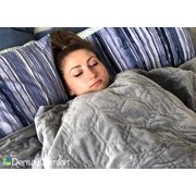 """Weighted Blanket with Cover Adults 15 lbs 60x80"""" Queen Size by DensityComfort 
