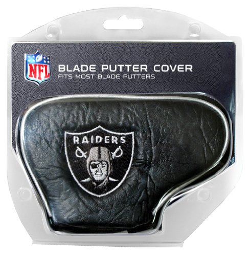 Team Golf NFL Oakland Raiders Golf Blade Putter Cover