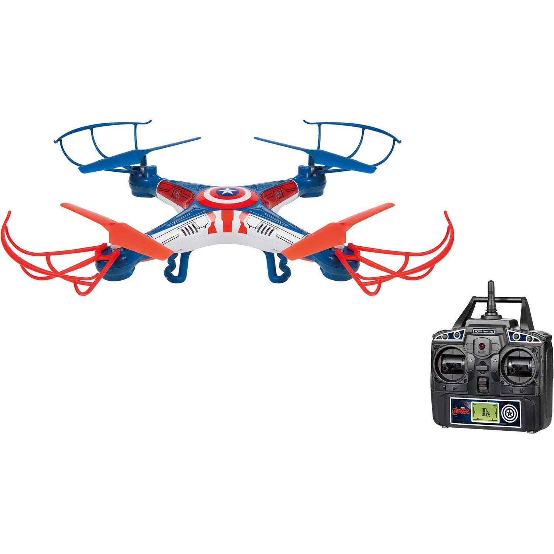 Marvel Captain America Sky Hero 2.4GHz 4.5-Channel RC Drone