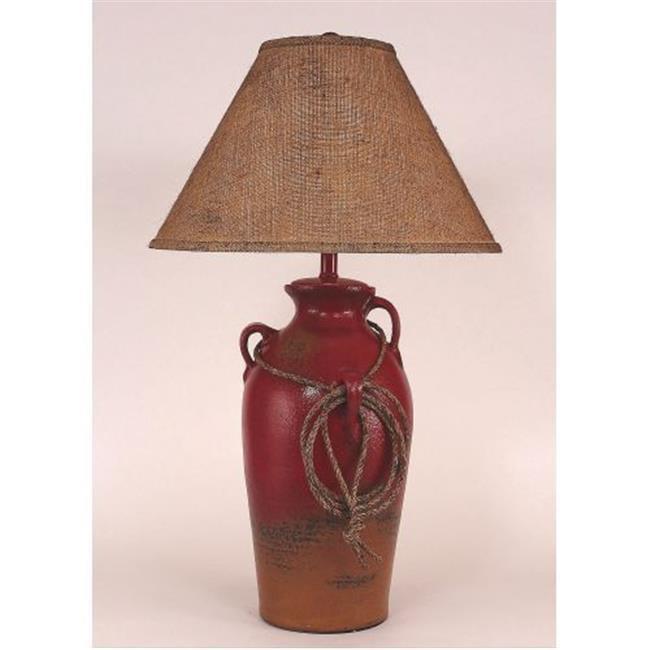 Coast Lamp Manufacturer 15-R17C Firebrick 3 Handled Table...