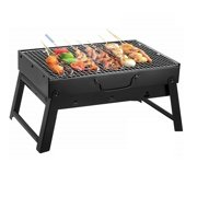 Portable Grill Charcoal Bbq Folding Barbecue Stove Camping Outdoor