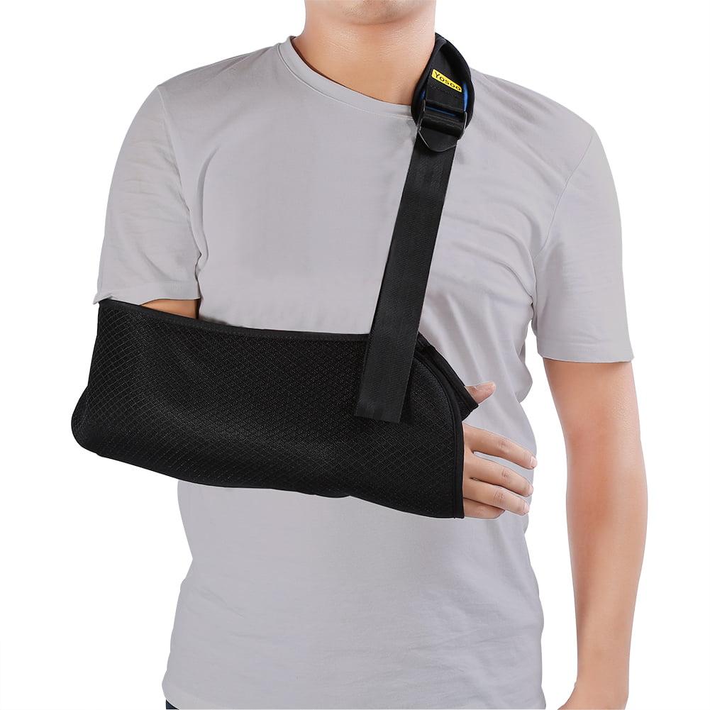 Arm Sling Elbow Support,Maximum Comfort, Ergonomic Design Dislocated Shoulder Sling for Broken Arm Immobilizer Suits both Men & Women