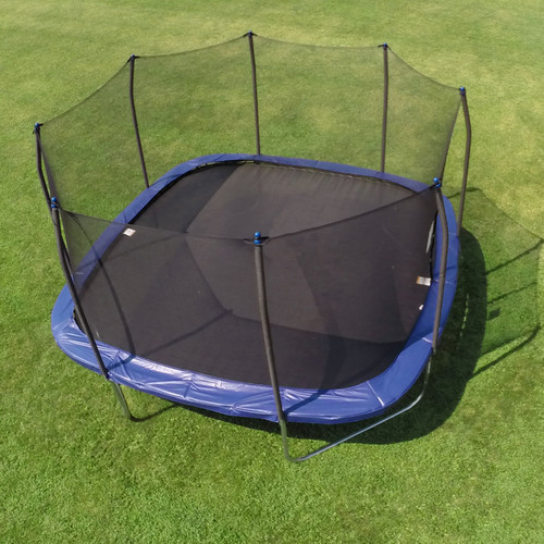 Skywalker Trampolines Square 13-Foot Trampoline, with Safety Enclosure (Box 1 of 2)