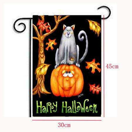 Hot New Custom Pumpkin Halloween Weatherproof Decoration Garden Flag 12x18 - Halloween Nashville Weather