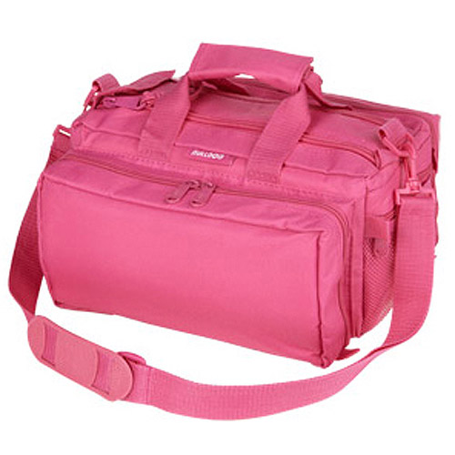 Bulldog Cases Deluxe Range Bag w/ Strap- Pink