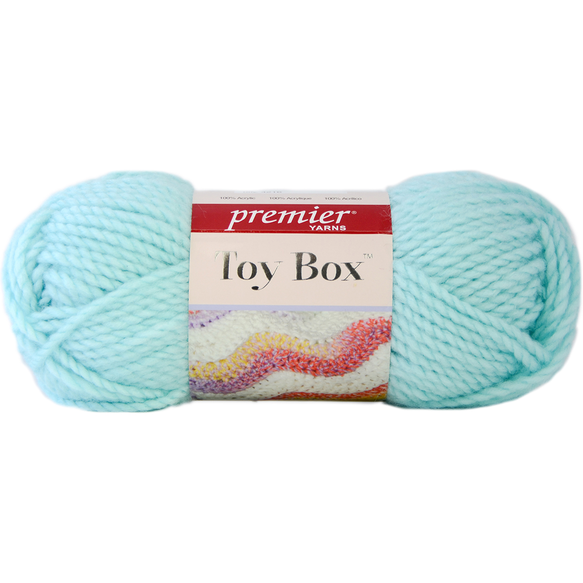 Toy Box Yarn-Frisbee