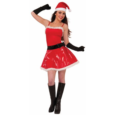 naughty girl sassy santa costume adult women - Naughty Girl Halloween Costumes