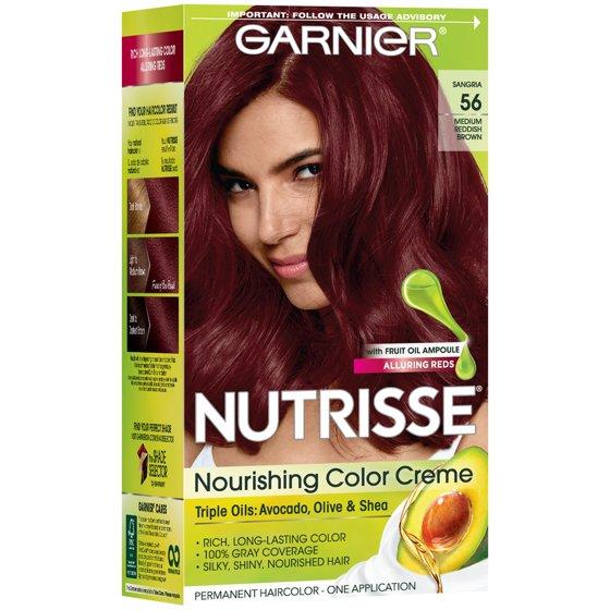 Garnier Nutrisse Nourishing Hair Color Creme Reds 56 Medium