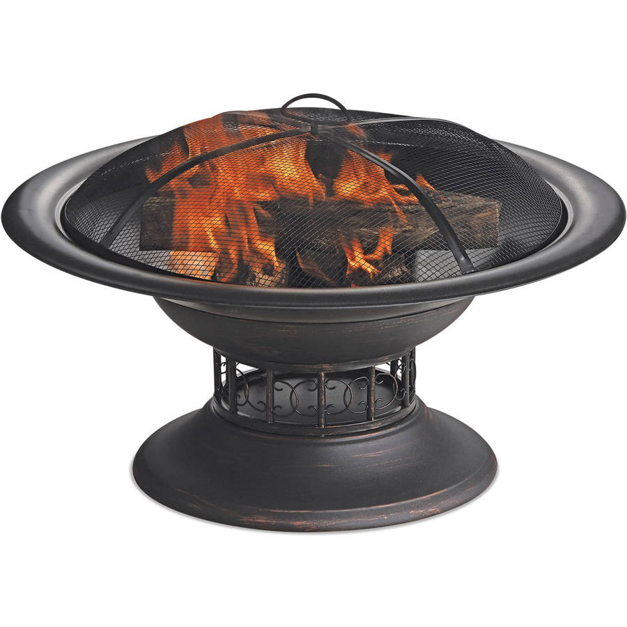 Blue Rhino Endless Summer Round Wood Burning Firebowl