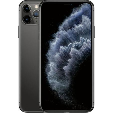 Refurbished Apple iPhone 11 Pro Max 256GB Space Gray LTE Cellular Verizon MWGK2LL/A