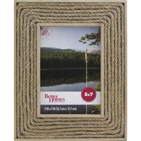 Better Homes And Gardens Edie 5x7 Rope Picture Frame