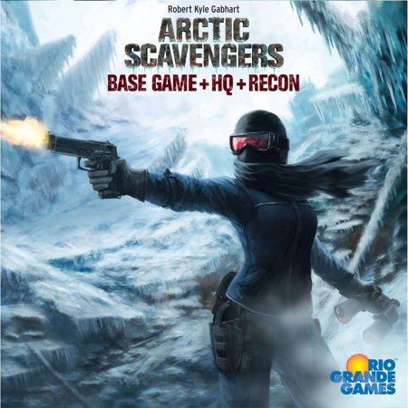 (Rio Grande Games Arctic Scavengers Board Game with Recon Expansion)