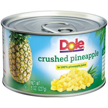 Dole® Crushed Pineapple in 100% Pineapple Juice 8 oz. Can ...