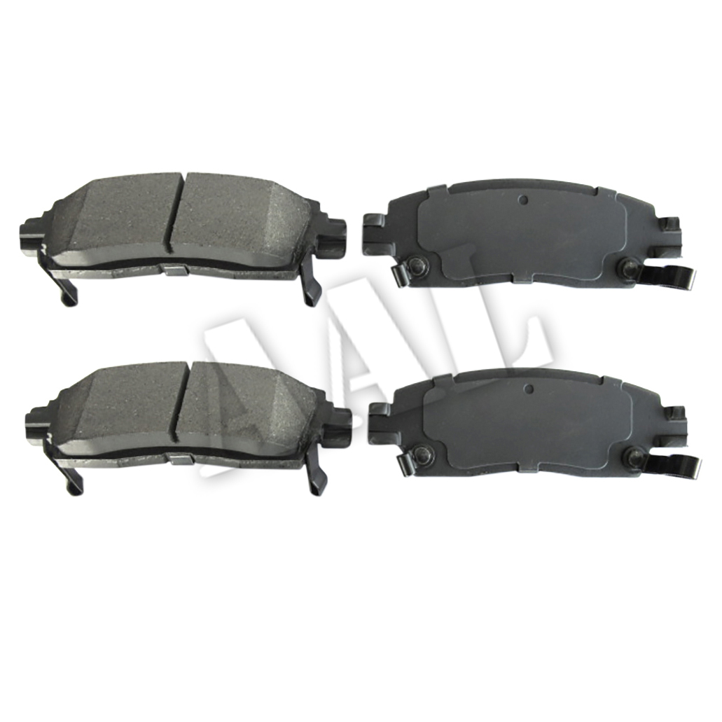2007 2008 For Saturn Outlook Front and Rear Ceramic Brake Pads