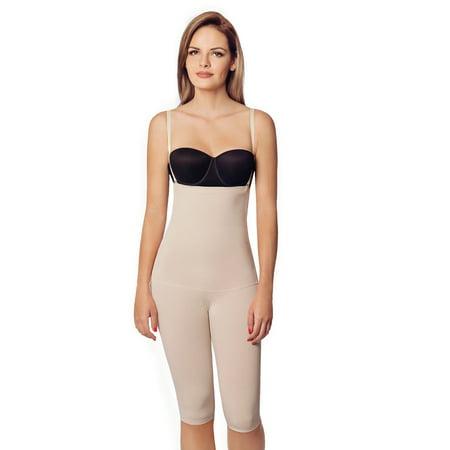 979e7c4c Annette WL0006PT Extra Firm High Waist Long Leg Girdle-2XL-Beige