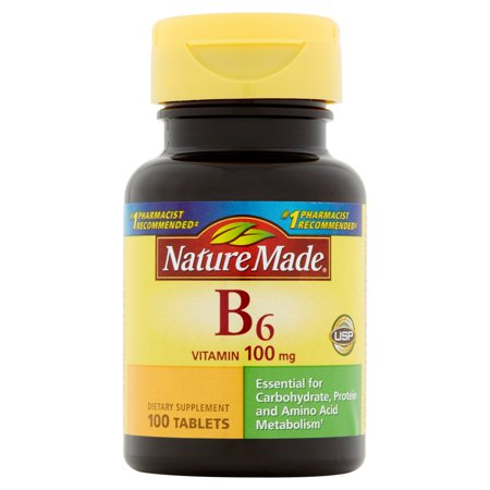 Nature Made La vitamine B-6 comprimés, 100CT