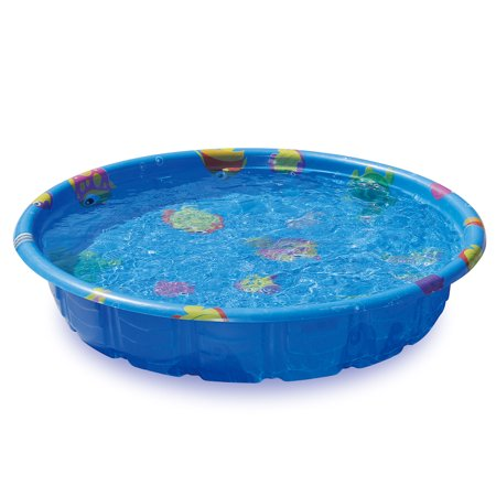 "Summer Escapes 59"" Assorted Colors Molded Pool"