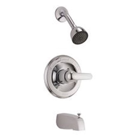 Delta Monitor Pressure Balance Tub And Shower Trim Kit, Chrome, 2.0 Gpm