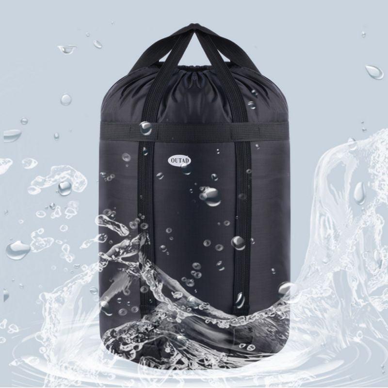 Waterproof Compression Stuff Sack Bag Camping Sleeping Bag Storage Package  FBTO