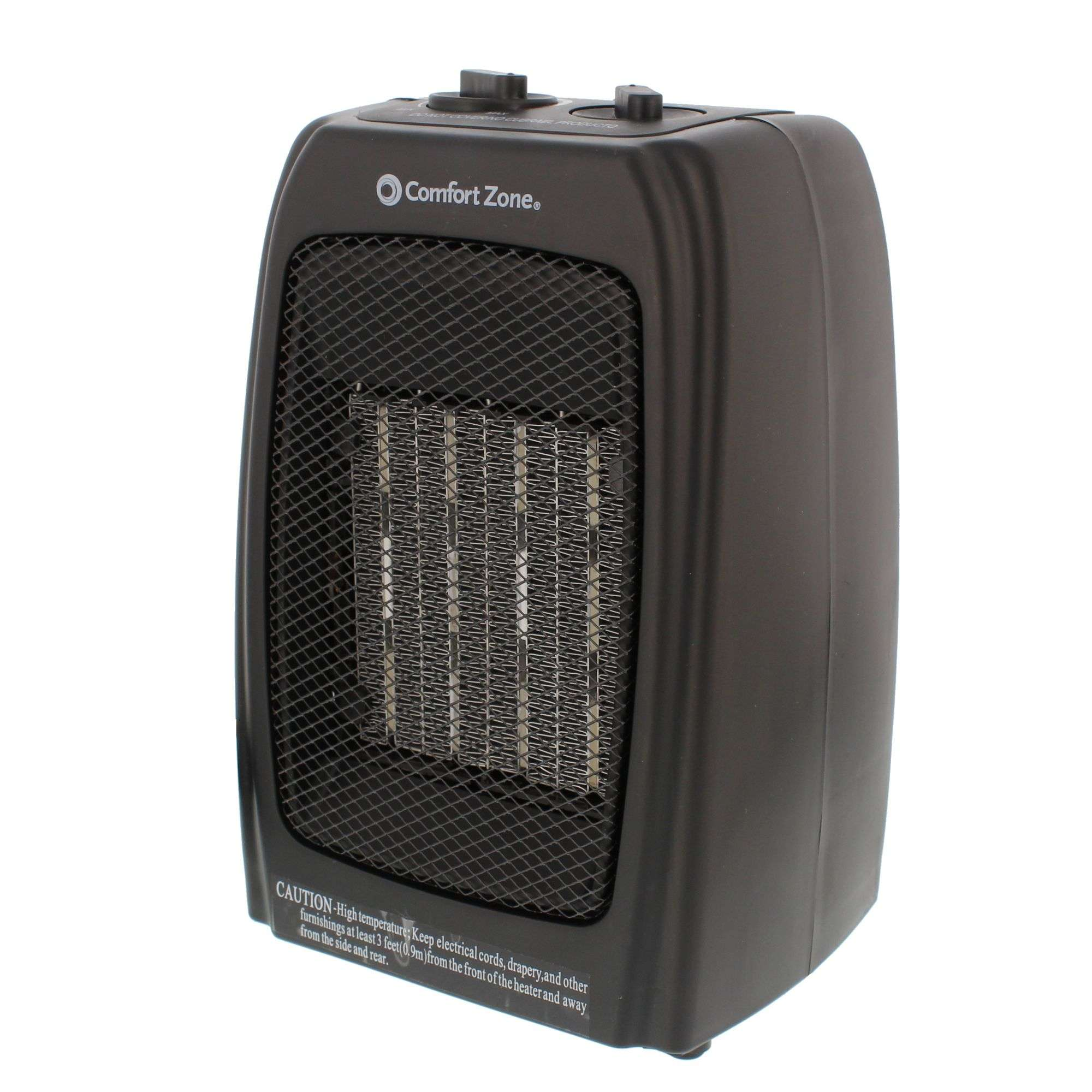 Comfort Zone Ceramic Electric Portable Space Heater Black Cz442wm Why Does My Keep Tripping Circuit Breaker