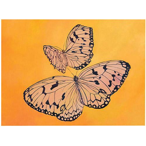 "Trademark Fine Art ""Two Butterflies"" by Rickey Lewis, 14x19"