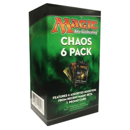 Magic The Gathering Chaos 6 Pack Mystery Box Trading Cards