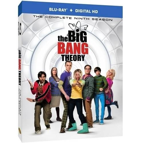 The Big Bang Theory: Season 9 (Blu-ray + Digital HD With UltraViolet)