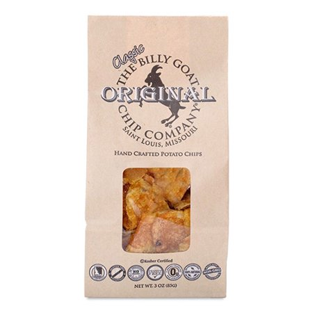 The Billy Goat Chip Company Original Potato Chips (3 oz Bag) (3 (The Best Chips Ever)