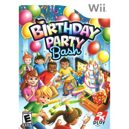 2K Games Birthday Party / Game (Nintendo Wii) BRAND NEW!!](Party City Wi)
