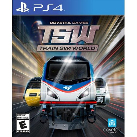 Train Sim World for PlayStation 4 (Best Space Sim Games)